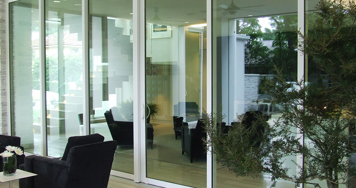 6000 Series Aluminum Sliding Glass Door
