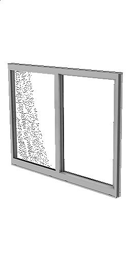 SLIDING IMPACT WINDOW