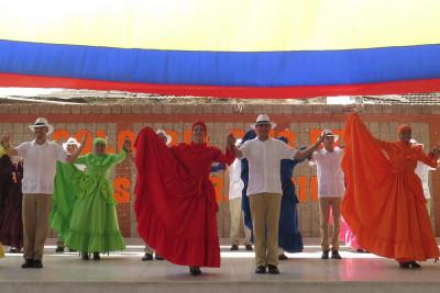Festival internacional de danza folclórica Estefanía Caicedo