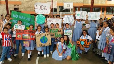 La patrulla ambiental del Nuevo Colegio del Prado